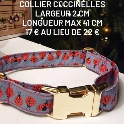 Collier coccinelles